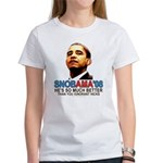 SNOBAMA '08 anti-Obama Women's T-Shirt