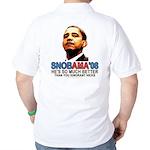 SNOBAMA '08 anti-Obama Golf Shirt