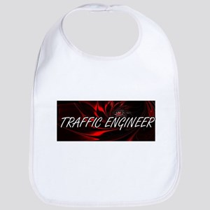 Traffic Engineer Professional Job Design Baby Bib