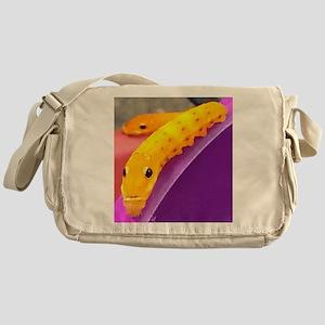Tiny Orange Life Messenger Bag