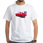 Red NSU Sport Prinz White T-Shirt