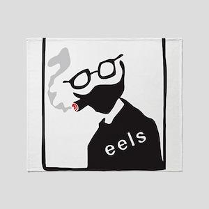 Like Eels New T-Shirt Mens Womens Ki Throw Blanket