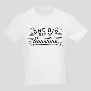 One Big Ray Of Sunshine Kids Light T-Shirt