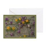 Flower photo Greeting Cards (20 Pack)