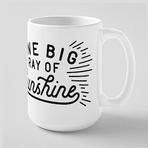 One Big Ray Of Sunshine Large Mug