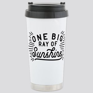 One Big Ray Of Sunshine Stainless Steel Travel Mug