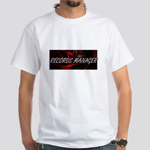 Records Manager Professional Job Design T-Shirt