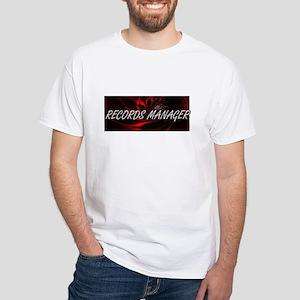 Records Manager Professional Job Design T-Shirt