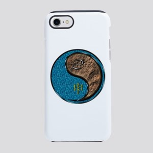 Cancer & Earth Monkey iPhone 8/7 Tough Case