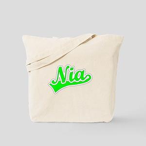 Retro Nia (Green) Tote Bag