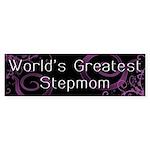 World's Greatest Stepmom Bumper Sticker