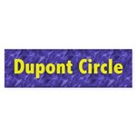 Dupont Circle Sticker (Bumper 10 pk)