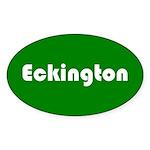 Eckington Sticker (Oval 10 pk)