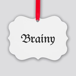 Brainy Picture Ornament