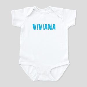 Viviana Faded (Blue) Infant Bodysuit