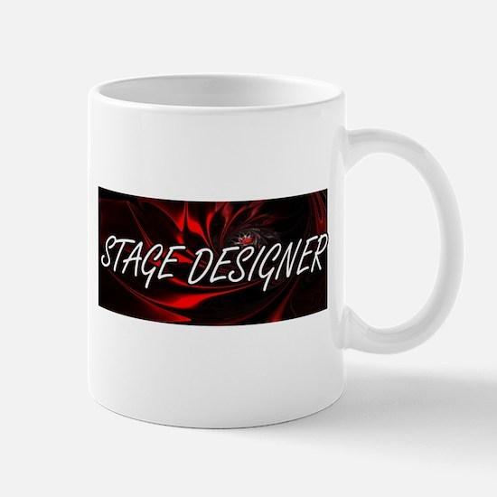 Stage Designer Professional Job Design Mugs