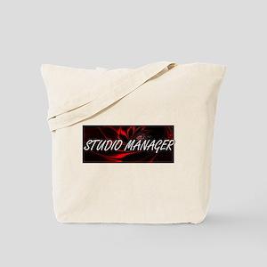 Studio Manager Professional Job Design Tote Bag