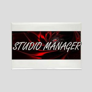 Studio Manager Professional Job Design Magnets