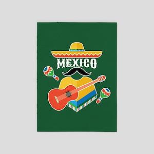 Mexico Hombre 5'x7'Area Rug