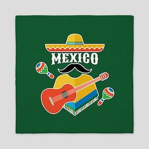 Mexico Hombre Queen Duvet