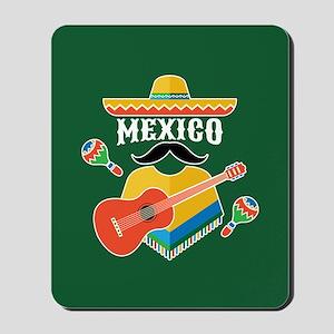 Mexico Hombre Mousepad