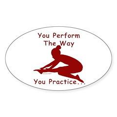 Gymnastics Stickers (10) - Perform