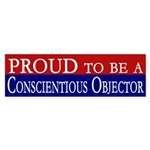 Proud to be a Conscientous Objector