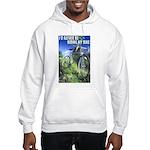 Green Bicycle Hooded Sweatshirt