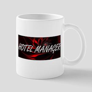 Hotel Manager Professional Job Design Mugs