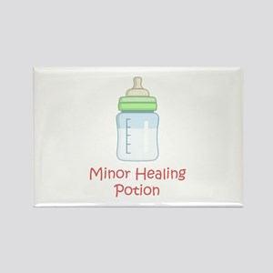 RPG Milk Healing Potion Rectangle Magnet