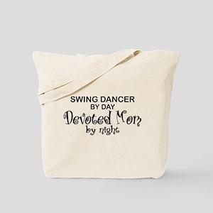 Swing Dancer Devoted Mom Tote Bag