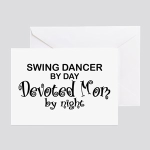 Swing Dancer Devoted Mom Greeting Cards (Pk of 10)