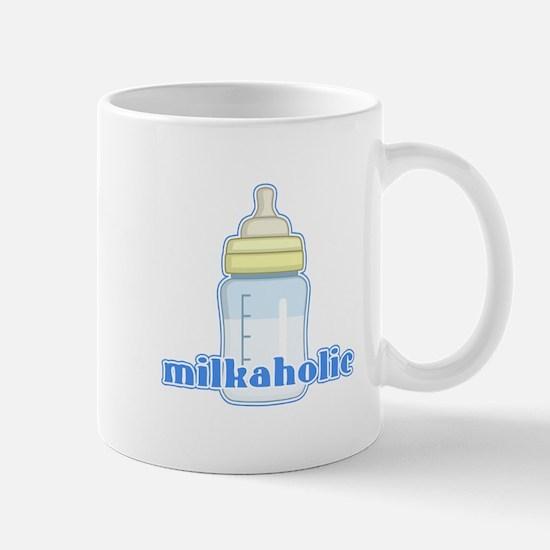 Milkaholic Blue Mug
