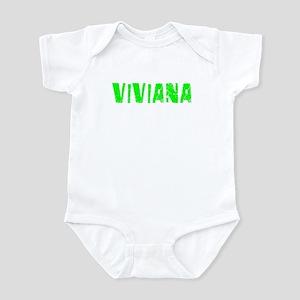 Viviana Faded (Green) Infant Bodysuit