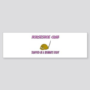 Horseshoe Crab Trapped In A Woman's Body Sticker (