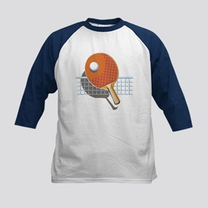 Table Tennis Kids Baseball Jersey
