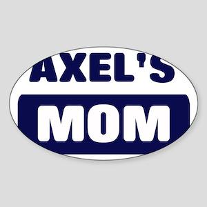 AXEL Mom Oval Sticker