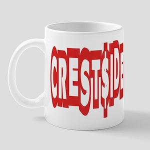 CREST$IDE -- T-SHIRTS Mug