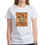 Evil Wicked Women's Classic White T-Shirt