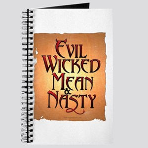Evil Wicked Journal
