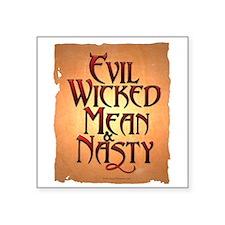 Evil Wicked Square Sticker 3