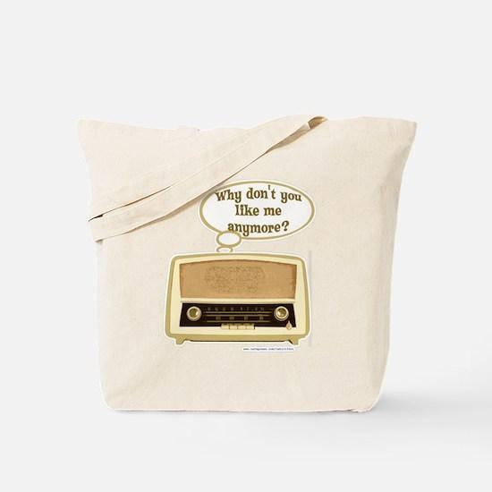 Sad Radio Tote Bag
