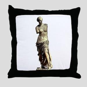 Venus de Milo Throw Pillow