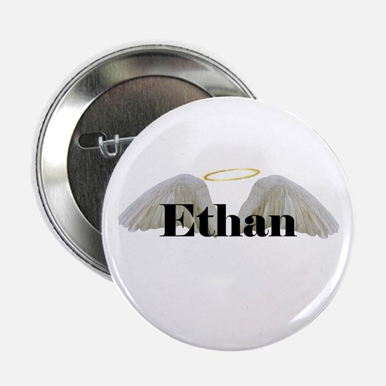 """Ethan (wings) 2.25"""" Button"""