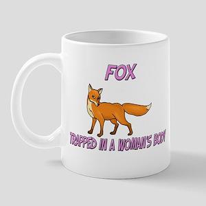 Fox Trapped In A Woman's Body Mug