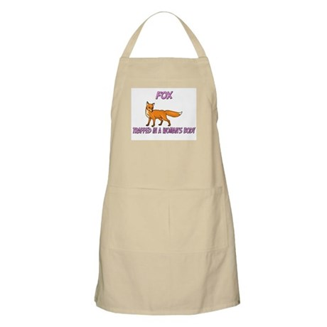 Fox Trapped In A Woman's Body BBQ Apron