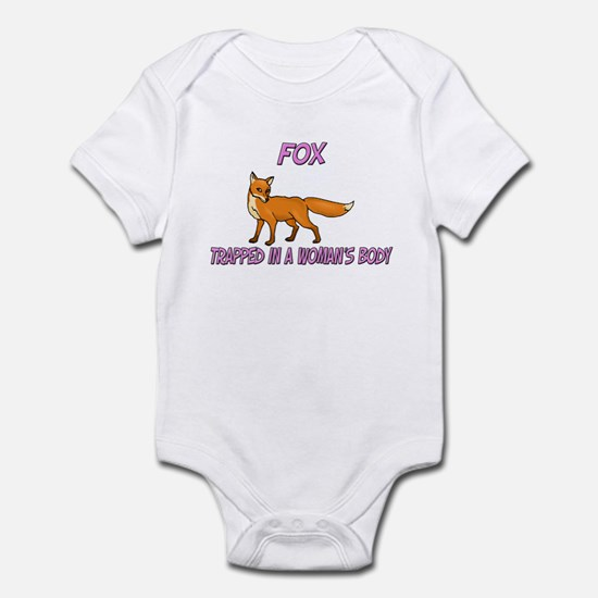 Fox Trapped In A Woman's Body Infant Bodysuit