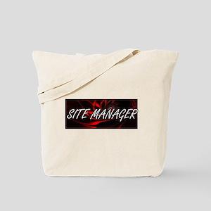 Site Manager Professional Job Design Tote Bag