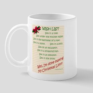 Wish List Mug