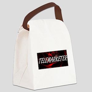 Telemarketer Professional Job Des Canvas Lunch Bag